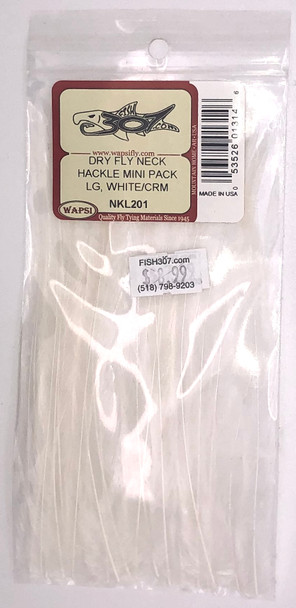Wapsi Dry Fly Neck Hackle Mini Pack Large - Ginger