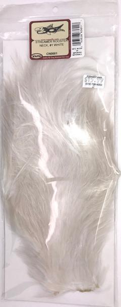 Wapsi Streamer Rooster Neck #1 - White