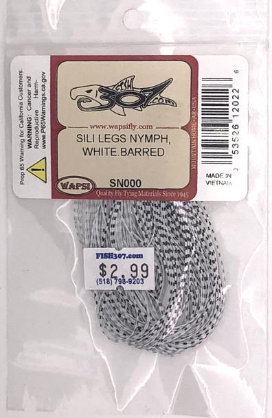 Wapsi Sili Legs Nymph- White Barred
