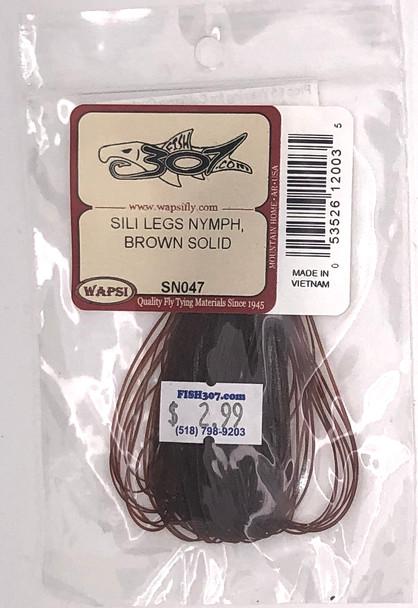 Wapsi Sili Legs Nymph- Brown Solid
