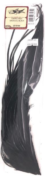 Wapsi Ewing Half Saddles - Black