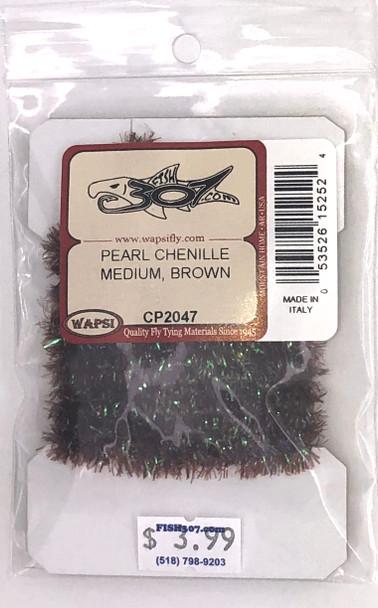 Wapsi Pearl Chenille Medium - Brown