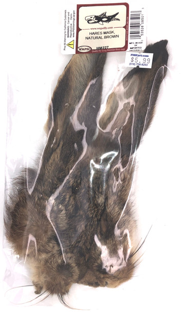 Wapsi Hares Mask Natural - Brown