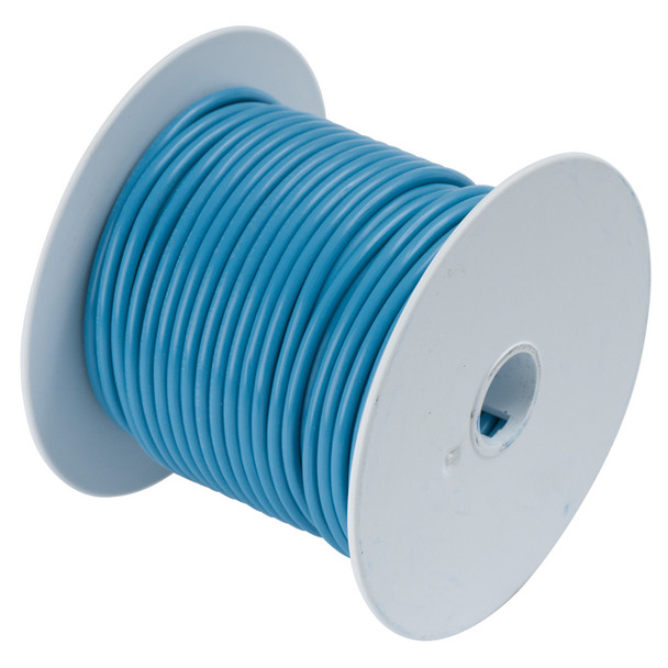 Ancor Light Blue 14AWG Tinned Copper Wire - 100'