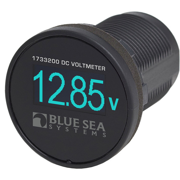 Blue Sea 1733200 Mini OLED Voltmeter - Blue