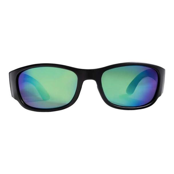 Rheos Sunglasses - Bahias - Nylon Optics-Gunmetal | Emerald