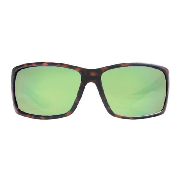 Rheos Sunglasses - Eddies - Nylon Optics Tortoise - Emerald