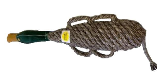 Tailfin Pet Co. - X-Large 2 Liter Crinkle Duck w/ Squeaker & Handles