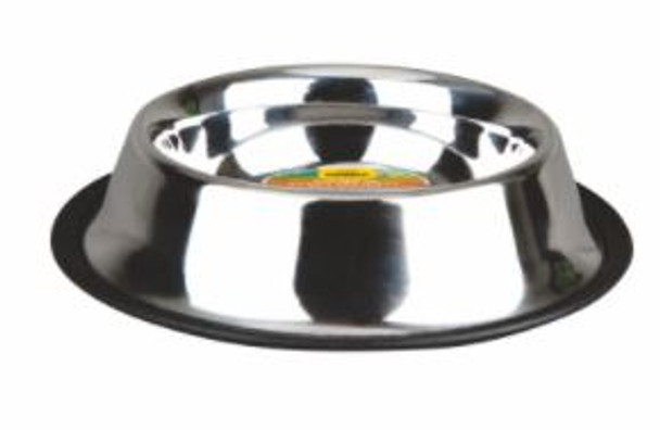 16oz Advanced Pet Products Stainless Steel Non-Skid Bowl