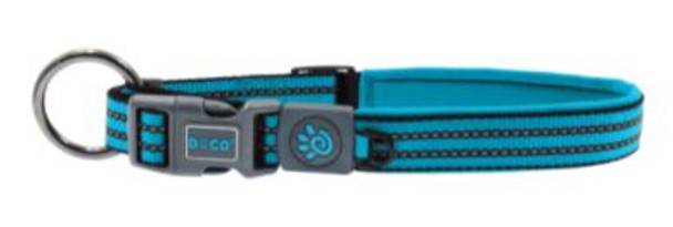Doco Vario O-Ring Collar - Small Turquoise