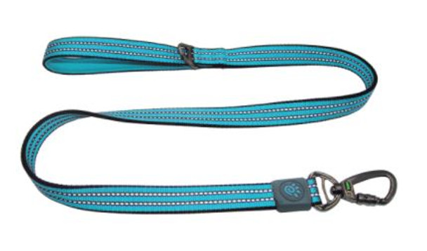 Doco Vario 4' Leash - Large Turquoise