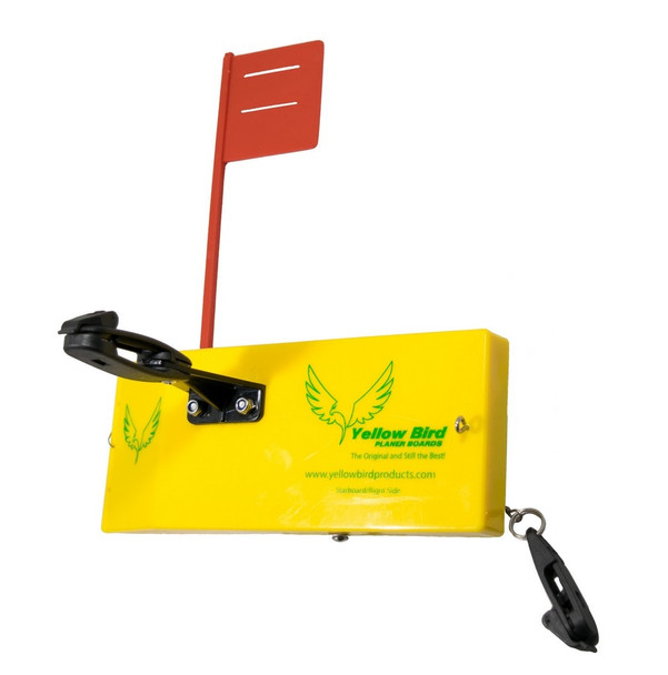 Yellow Bird - Medium Starboard  Side Planer Board (100S) - 8 inches