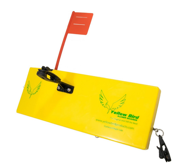 Yellow Bird - Extra Large Starboard  Side Planer Board (700S) - 12 inches