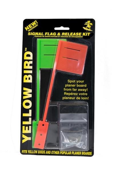 Yellow Bird - Flag Kit - No Releases (1 red flag & 1 green flag) (FK100)