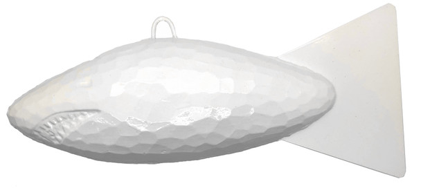 Shark Cannonball Downrigger Weight - Glow 15 Lb
