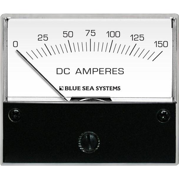 "Blue Sea 8018 DC Analog Ammeter - 2-3/4"" Face, 0-150 Amperes DC"
