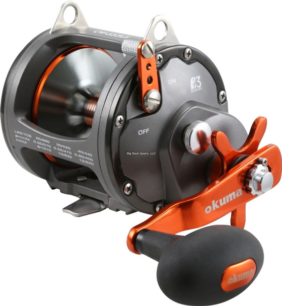 Okuma CW-453DS Coldwater Wireline Conventional Reel