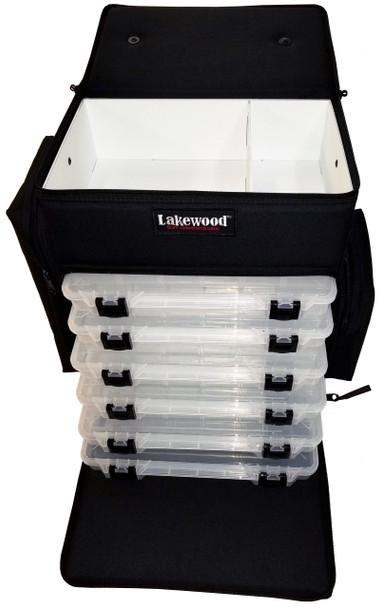 Lakewood - Magnum Top Shelf Tackle Storage Box - Black