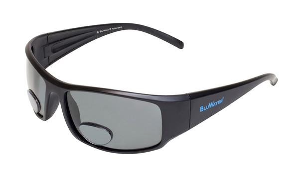 Global Vision - Polarized Bifocal Sunglasses - Bifocal 1 - Gray