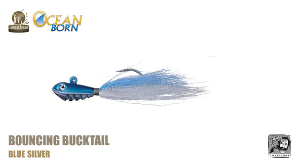 Band of Anglers OCEAN BORN™ - Bouncing Bucktail - Blue Silver