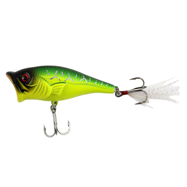 SteelShad Topwater Series Fishing Lures - Bass Popper - 3/8 oz