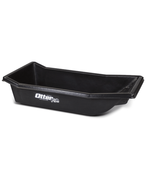 Otter 200816 Small Ultra-Wide Sled Roto-Molded Black