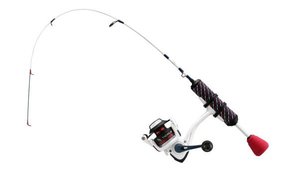 "13 Fishing - Wicked Maverick Ice Combo - 28"" ML (Medium Light) - Wicked Long Stem + Carbon Blank (no flat tip)"