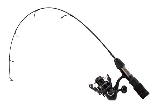 "13 Fishing - Blackout Ice Combo - 28"" ML (Medium Light)"