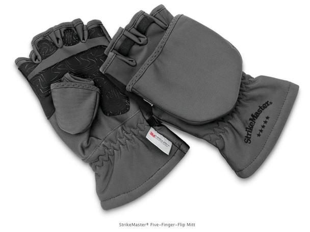 StrikeMaster® Five-Finger-Flip Mitt