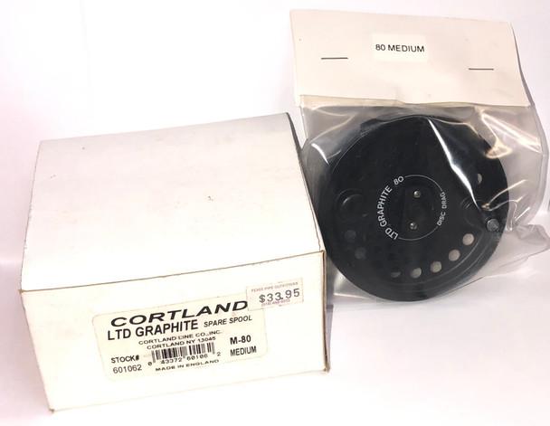 NEW - Cortland LTD Graphite M-80 Fly Reel Spare Spool No. 601062 NIB