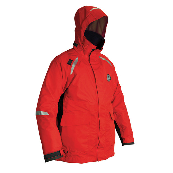 Mustang Catalyst Flotation Coat - X-Large - Red/Black