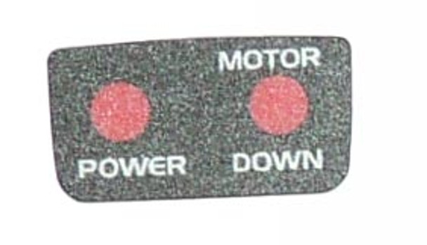 Minn Kota Trolling Motor Part - DECAL-COVER, LED - 2055610