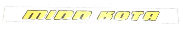 Minn Kota Trolling Motor Part - DECAL,CTRL BOX SIDE,MK FW - 2325665