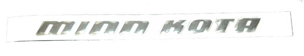 Minn Kota Trolling Motor Part - DECAL,CTRL BOX SIDE,MK SW - 2325666