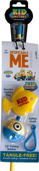 Kid Casters Despicable Me Fishing Pole and Spincast Reel Combo (DMSNT)