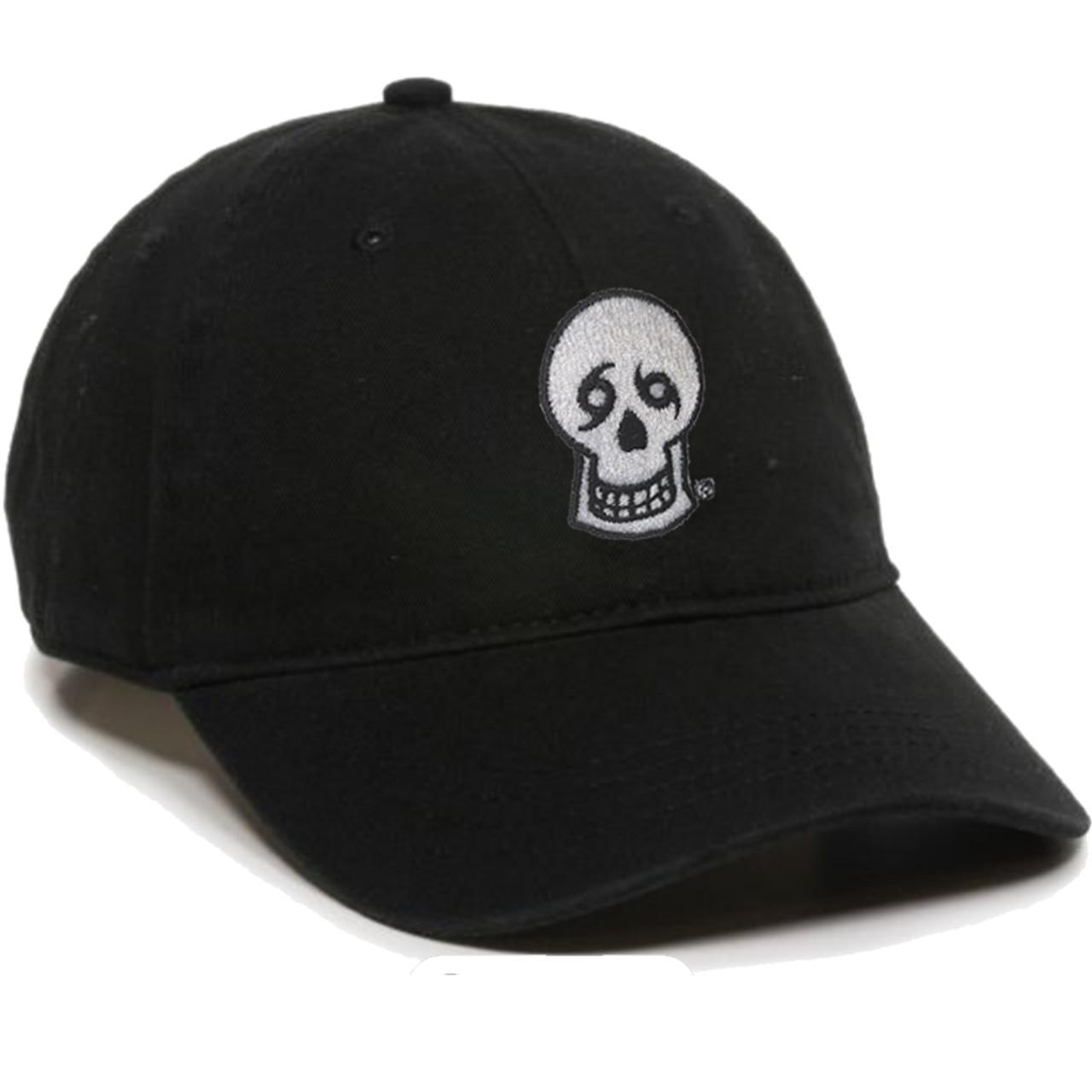 ecaaf6231a602c Skull Dad Hat (black) - NOLA Til Ya Die