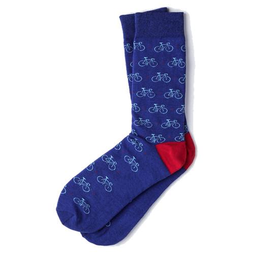 Bicycle Socks (blue)