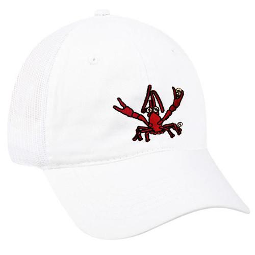 Crawfish Mesh Back Hat (white)
