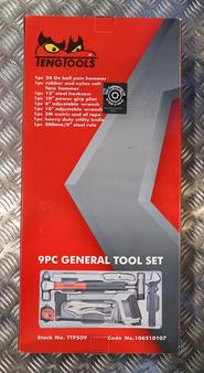 9PC GENERAL TOOL SET