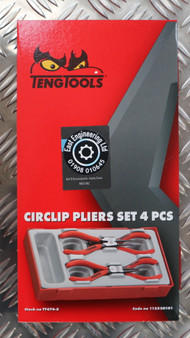 CIRCLIP PLIERS SET 4 PCS 5""