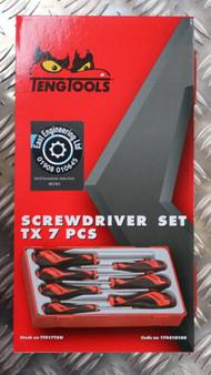 SCREWDRIVER SET TX 7 PCS