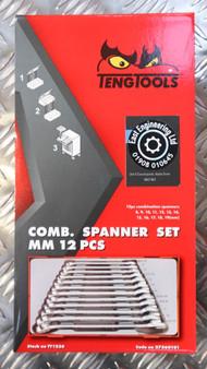 COMB. SPANNER SET MM 12 PCS