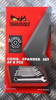 COMB. SPANNER SET AF 8 PCS