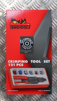 CRIMPING TOOL SET 121 PCS