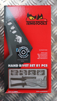 HAND RIVET SET 81 PCS