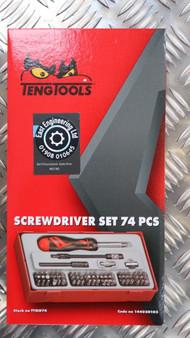 SCREWDRIVER SET 74 PCS