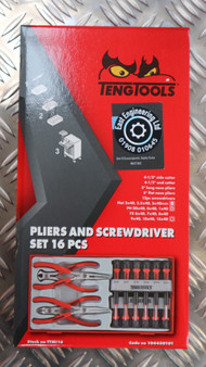 MINI PLIERS AND SCREWDRIVER SET