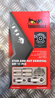 STUD AND NUT REMOVAL SET 11 PCS