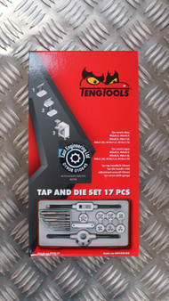 TAP AND DIE SET 17 PCS