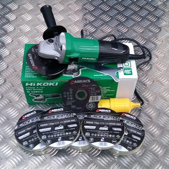 Hi Koki (Hitachi Power Tools)  & ABRACS Thins Offer 110V or 230V